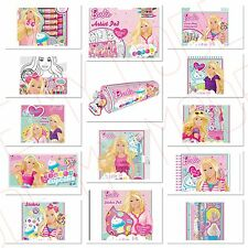BARBIE STATIONARY BACK TO SCHOOL CHOOSE YOURS GIFT, SCHOOL , FUN, HOME