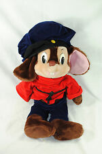 VTG Fievel Mouse 1986 An American Tail Sears Caltoy Plush Stuffed Animal Toy 22""