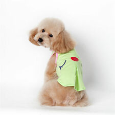 Summer Pet Puppy Shirt Small Dog Cat Pet Clothes Costume Apparel T-Shirt Vest