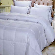 Full/Queen Overfilled Dobby Woven 300 Thread Count Down Alternative Comforter