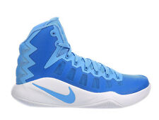 NEW MENS NIKE HYPERDUNK 2016 BASKETBALL SHOES TRAINERS UNIVERSITY BLUE / WHITE