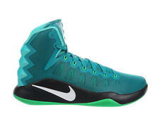 NEW MENS NIKE HYPERDUNK 2016 BASKETBALL SHOES TRAINERS RIO TEAL / WHITE / GREEN