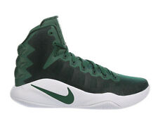 NEW MENS NIKE HYPERDUNK 2016 BASKETBALL SHOES TRAINERS GORGE GREEN / WHITE