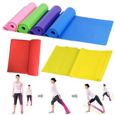 1.5M Resistance Band Tube Workout Exercise Elastic Band Fitness Equipment Yoga