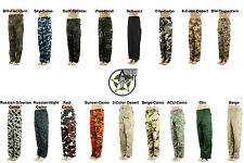 NEW US Ranger Pants Army Cargo Trousers BDU in various colours XS S M L XL XXL