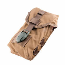 Molle Quadruple Rifle Mag Pouch .308 7.62mm AK .223 5.56mm AR-15 4 Mags