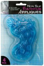 Non-Slip Foot-Shaped Bathtub Appliques Case Pack 12
