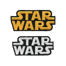 STAR WARS LOGO PATCH DIY EMBROIDERED IRON ON IMPERIAL STORM TROOPER EMBLEM BADGE