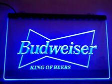 Budweiser Beer LED Neon Sign On/Off Switch Bar Pub Club Room hanging sign