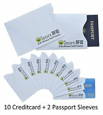 High Quality RFID Blocking Credit Debit Card Passport Identity Protection
