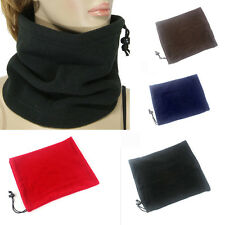 Mens Womens Full Function Winter Thermal Fleece Scarfs Ski Wear Beanie Hats