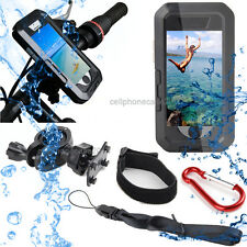 Waterproof Bike Bicycle Handlebar Mount Holder Armband Case For iPhone 6s 7 Plus
