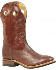 New Men's Boulet 8209 Noce Bullhide Leather Cowboy Boots Canadian made