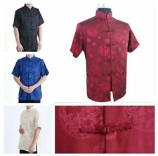 Hot! Chinese Traditional Men's Casual Kung Fu Shirt Tops M L XL XXL 3XL