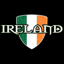 Ireland Flag Irish Pride Patriotic T-Shirt Tee