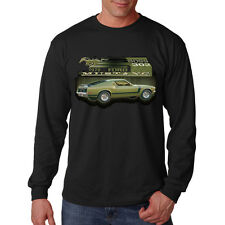 Ford Mustang Boss 302 American Classic Muscle Car Auto Long Sleeve T-Shirt Tee