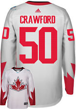 Corey Crawford Team Canada World Cup Of Hockey Adidas Premier Away Jersey