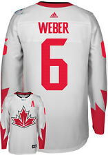 Shea Weber Team Canada World Cup Of Hockey Adidas Premier Away Jersey