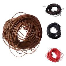 10M 1mm Waxed Wax Cord String Linen Thread Wire for DIY Jewelry Bracelet Making