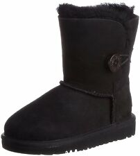 Toddler UGG Australia Bailey Button Boot 5991T Black 100% Original Brand New