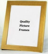 Solid Wood - NATURAL PINE Finish Photo/Picture Frame - Various Sizes available.