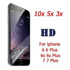 10/5/3Pcs HD Clear Front/Back Screen Protector Film Cover For iphone 6 6s 7/Plus