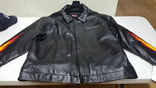 Johnny Blaze Leather Jacket AWESOME! NEW with Tags!! 3XL!! Black!