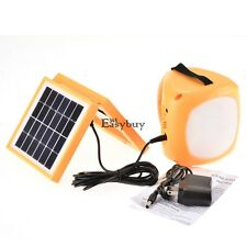 LED Solar Rechargeable Lantern & Cell Phone Charger Emergency LED Camping Light