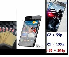 Screen Protector Cover Guard Film For Samsung Galaxy S2  I9100 Galaxy S II x2 15