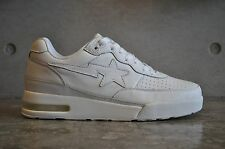 A Bathing Ape Bapesta Roadsta Nigo OG Triple White 6.5 UK