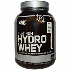 Optimum Nutrition PLATINUM HYDRO WHEY 1.75 / 3.5 lbs FREE EXPEDITED SHIPPING
