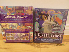 2 Sealed Sets Truth Fairy Enchanted Pendulum Message Board Kit & Animal Powers