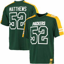 Majestic Clay Matthews Green Bay Packers Green Hashmark Name & Number T-Shirt
