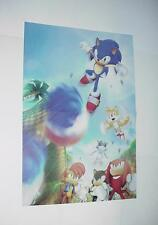 Sonic the Hedgehog Poster #14 Tails Knuckles Flickies Metal Sonic Patrick Spazia