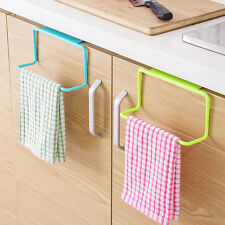 Towel Rack Bathroom Kitchen Cabinet Cupboard Hanging Holder Organizer Hanger