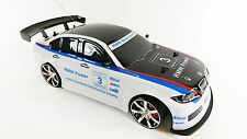 1-10 Radio Control RC 4WD Drift Modified Replica Ice White BMW M3 DTM Drift Car