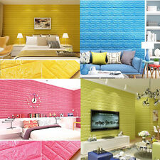 Living Room Wall Background Modern Brick Pattern 3D Wallpaper Bedroom Home Decor