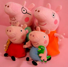 Peppa Pig Family Stuffed Figures Toy Doll Peppa George Mummy Daddy Baby Gift