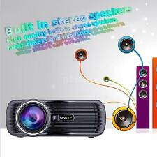 HD 1080P Mini LED/LCD 3D VGA HDMI TV Home Theater Projector Cinema Z7S1