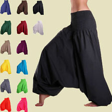 Men & Women Harem Pants Cotton Yoga Afagani Geni Indian Aladdin & Dance Trouser