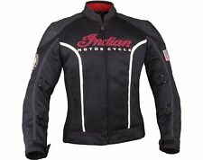 Womens Springfield Mesh Jacket - Black - by Indian Motorcycle 2863717