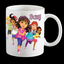 Personalised Dora the Explorer 2016 Coffee Mug, Dora the Explorer 2016 kids p...