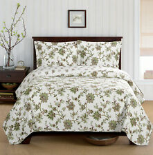 King/Calking Size Ultra-soft & smooth 3-PC Carrie Coverlet 100% microfiber Quilt