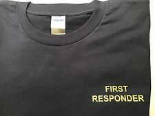 YOUR CUSTOM TEXT SHIRT - FIRST RESPONDER/MEDIC/AMBULANCE/PARAMEDIC/EMT