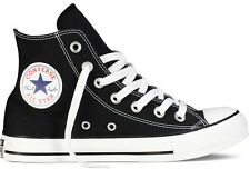 CONVERSE CHUCK TAYLOR ALL STAR HI M9160  CLASSIC BLACK WHITE TRAINERS