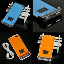 US 2200mAh External power bank Charger pack backup battery case for iphone 5 5S