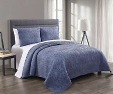King/Calking 3-PC Simmon Majestic Coverlet / Bedspread Set 100% Cotton Quilt Set