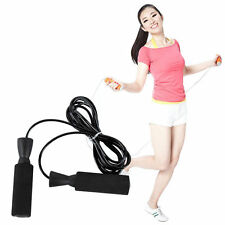Exercise Boxing Skipping Jump Rope Adjustable Weighted Bearing Speed Fitness