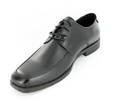 Mens Malvern Black Square Toe Lace Up black Formal Shoes, Style -A2102