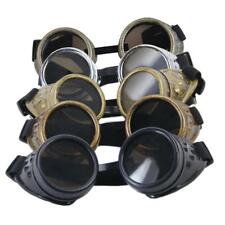 Steampunk Goggles Cyber Welding Goth Cosplay Vintage Goggles Glasses Costume